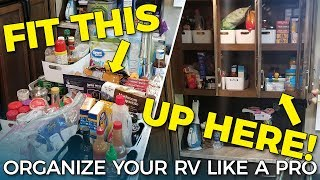 RV ORGANIZING TIPS | Organize Your RV Storage Like A Pro!