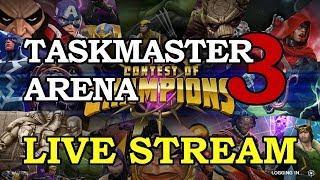 Taskmaster Arena - Part 3 | Marvel Contest of Champions Live Stream