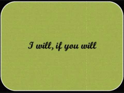 I will if you will john berry with lyrics