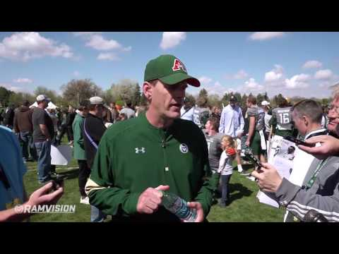 Colorado State Football: Spring Game Press Conference
