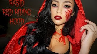 RABID RED RIDING HOOD: HALLOWEEN TUTORIAL