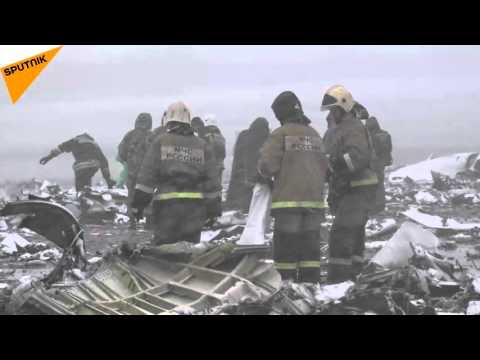 FlyDubai Crash Aftermath at Rostov-on-Don Airport - New Video