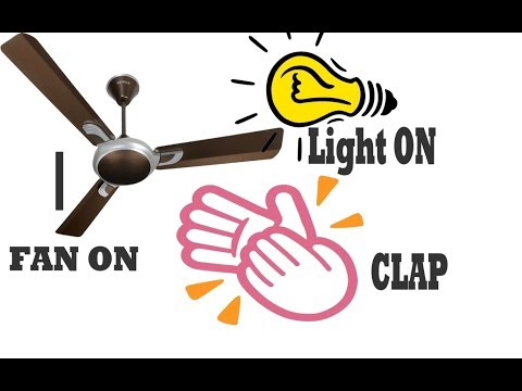 How to make a clap switch at home using Arduino||Control your light,fan just using clap||DIY