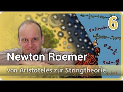 Newton Roemer • Flächensatz, Lichtgeschwindigkeit • Aristoteles⯈Stringtheorie (6)   Josef M. Gaßner
