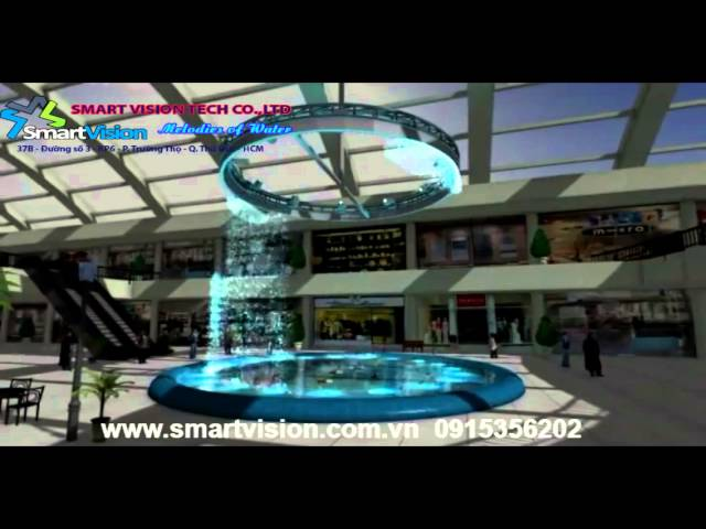 SmartVision water curtain simulation 1
