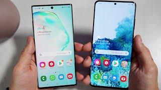 Samsung Galaxy S20 Ultra vs Galaxy Note 10+ | El Primer Duelo!!