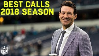 Tony Romo's Best Calls of the 2018 Season!