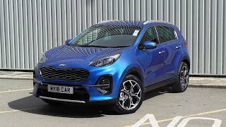 New shape 2018 Kia Sportage GT Line at Pentagon Kia sheffield