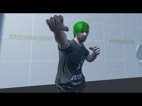 I Punch Holes in Every Wall I See Kyle Simulator