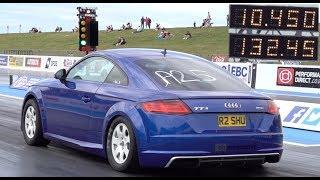 Quickest Audi TT 2.0 TSI EA888 In Europe - 10.45 @ 132mph