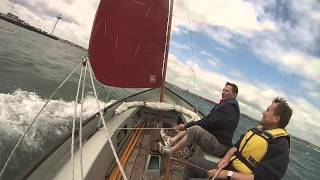 "20140615 Drascombe Longboat ""Rainbow Aileen"" - Portland Harbour and Weymouth Bay"