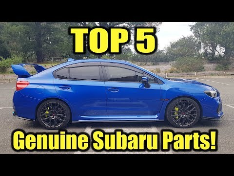 The Best OEM Subaru Parts For 2015-2019 WRX & STI