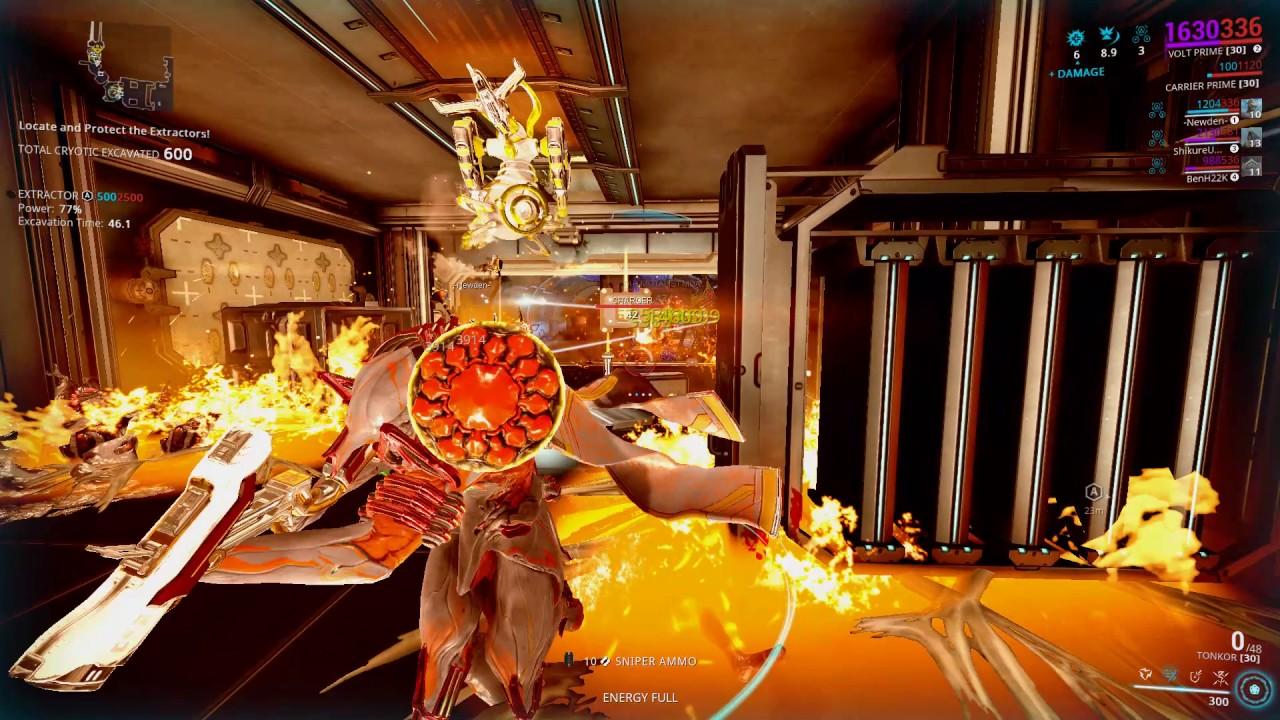 Warframe Volt Prime At Hieracon Farming Nova Prime Blueprint Relics