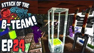 minecraft attack of the b team ep 24 i got you a gift from the moon b team modpack