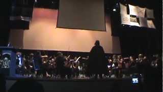 Vader dirige la Orquesta Sinfónica