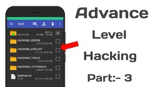 Advance Level Hacking Part 3