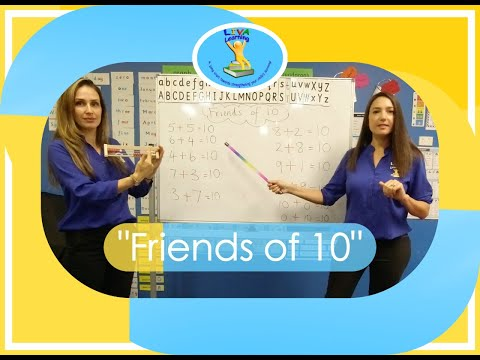 """""""friends-of-10""""-maths-song-with-liva-learning"""
