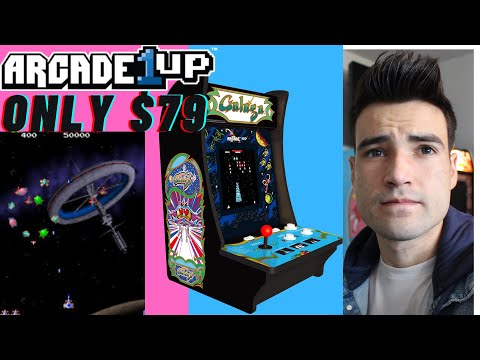 ARCADE1UP GALAGA COUNTERCADE FOR ONLY $79 from Brick Rod