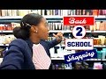 BACK TO SCHOOL SHOPPING ⎟NATURAL HAIR PRODUCT, MAKEUP, FASHION !