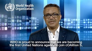 Open access to health research: WHO joins cOAlition S
