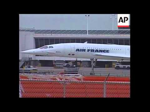 USA: AIR FRANCE CONCORDE CLEARED TO RETURN TO FRANCE - YouTube
