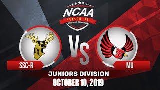 SSC-R vs. MU | NCAA 95 Jrs Basketball | October 10, 2019