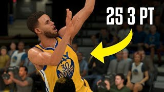 What If Stephen Curry Couldn't Shoot Threes? | NBA 2K20