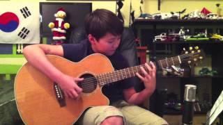 Grandma Got Run Over By A Reindeer - Fingerstyle Guitar - Simple Christmas Song