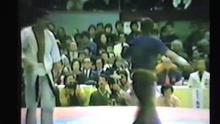 極真アーカイブス 第14回 全日本 3回戦 木元正資 vs 竹山晴友
