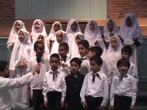 Charlotte Islamic Academy School Kids Singing a Beautiful Nasheed MAS  Center NC