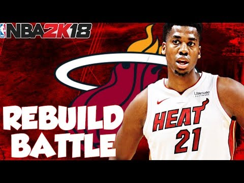 MIAMI HEAT REBUILD BATTLE VS. CRUSHABLES!! 2 TOP 5 PICKS!! NBA 2K18 MY LEAGUE