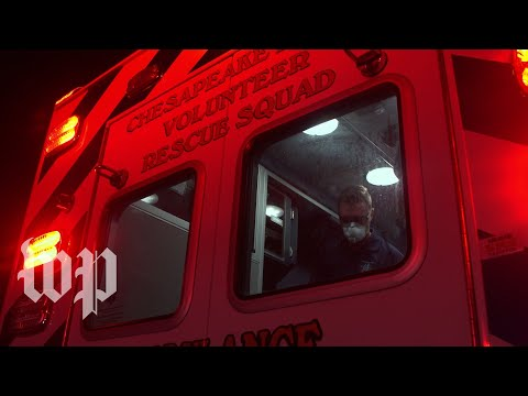 Paramedics on the front lines of the latest covid-19 surge