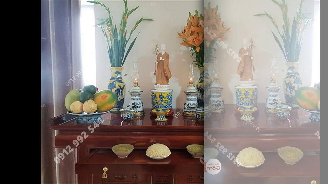 Tổng hợp những mẫu bàn thờ phật đẹp – nơi bán tượng phật tại tphcm
