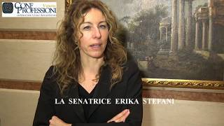 Confprofessioni Veneto incontra sen. Erika Stefani (LN). L'intervista. Verona, 23 02 18