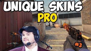 CS:GO UNIQUE PRO SKINS! #3