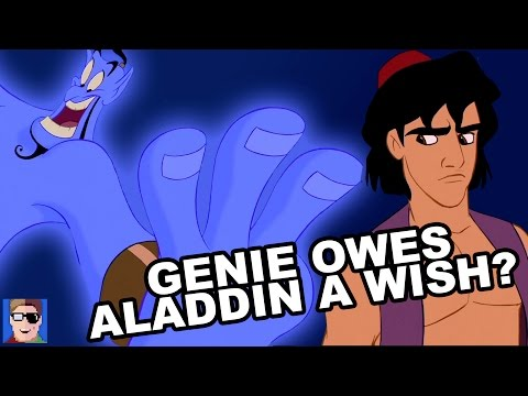 Aladdin Theory Genie Owes Aladdin A Wish