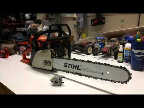 Stihl Chainsaw 021 Flooding Issue Resolved