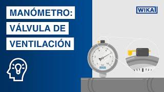La válvula de ventilación del manómetro | ¡Hay que prestar atención a eso!