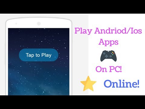 How to Use Android/Ios Apps Online On Pc |No Emulator|