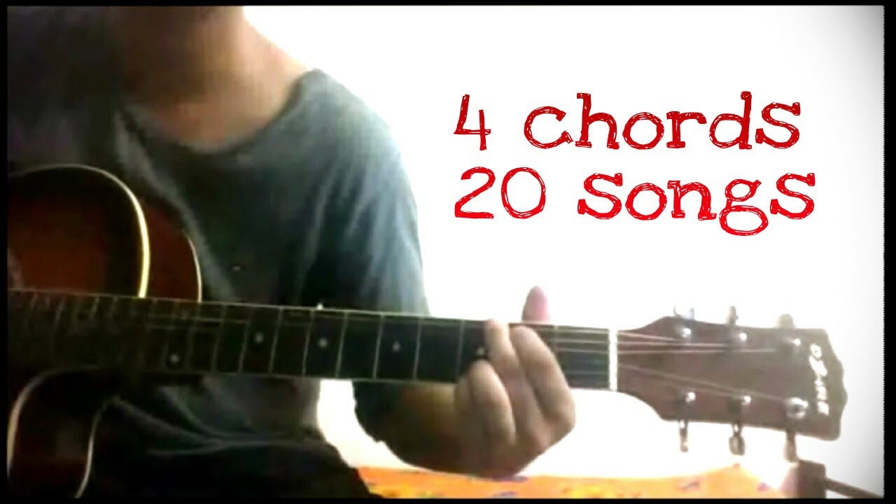 Play 20 hindibollywood songs on guitar using just 4 chords youtube hexwebz Images