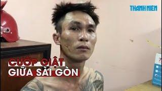 Bắt nóng hai tên cướp giật táo tợn trên đường phố Sài Gòn