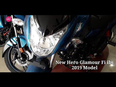 New Hero Glamour Fi ibs 2019 model