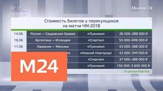 Наценка на билеты на ЧМ-2018 у перекупщиков достигает 200 процентов - Москва 24