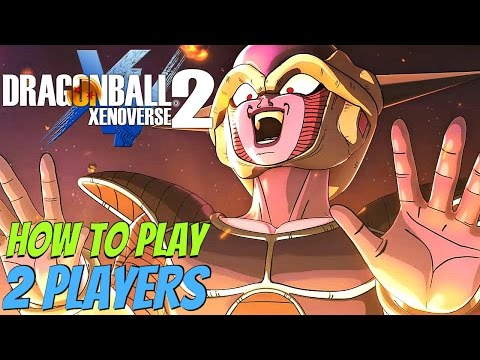 Dragon Ball Xenoverse 2 - How To Play 2 Player Local Offline Versus Battle