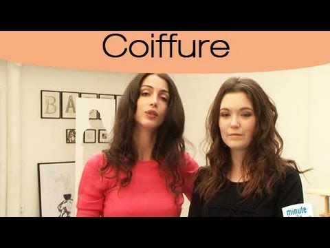 comment avoir une coiffure de mannequin youtube. Black Bedroom Furniture Sets. Home Design Ideas