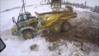 Remote controlled excavator and dump truck demonstration - Gjermundshaug and Specto Remote