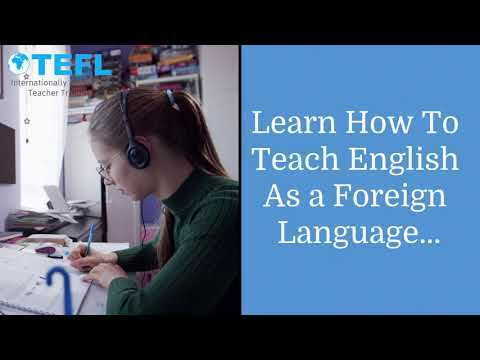 The Brand New Online TEFL/TESOL Courses