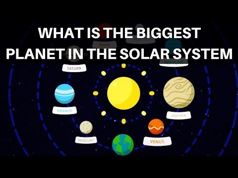 What is the Biggest Planet in our Solar System? Planet Facts