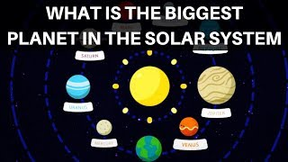 What is the biggest planet in the solar system? That's a question y...