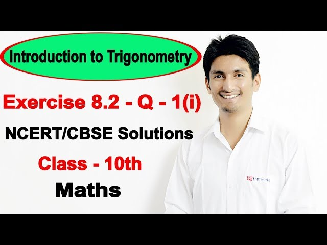 Introduction to Trigonometry Class 10 Maths | Chapter 8 (Ex 8.2) | NCERT Solutions class 10 maths
